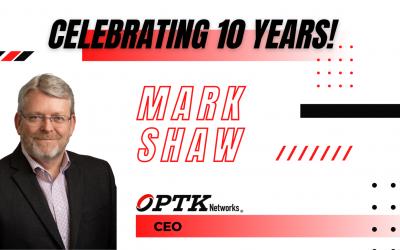 10 Year Work Anniversary – Mark Shaw, CEO